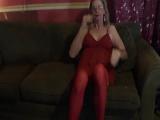 Cindy red garter