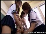 Futanari Schoolgirls Huge Cumshots!