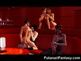 3D Futanari Babes with Big Dicks!