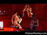 3D Futanari Babes with Big Dicks!